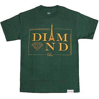 Diamant Supply Co Paris T-shirt Hunter grün