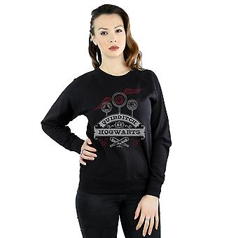 Harry Potter Women's Quidditch At Hogwarts Sweatshirt