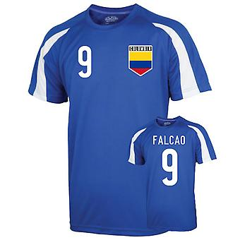 Colombia Sport Training Jersey (Falcao 9) - Kids