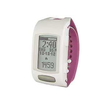 Lifetrak Zone C410W Fitness Tracker With Heart Rate Monitor White/Orchid