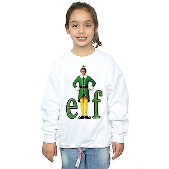 Elf Girls Buddy Logo Sweatshirt