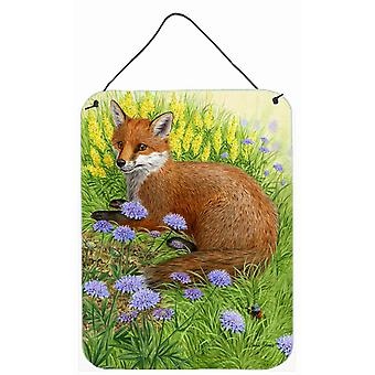 Carolines Treasures  ASA2160DS1216 Springtime Fox Wall or Door Hanging Prints