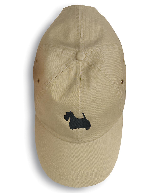 Carolines Treasures  BB3469BU-156 Scottish Terrier Embroidered Baseball Cap