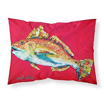 Fisch - Red Fish Woo Hoo feuchtigkeitsableitende Stoff standard Kissenbezug
