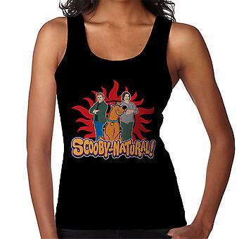Chaleco de la mujer sobrenatural Scooby Doo juego de palabras Scoobynatural