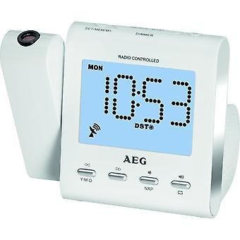 AEG väckarklocka projektor MRC4122 vit