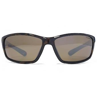 Freedom Polarised Smart Wrap Sunglasses In Tortoiseshell