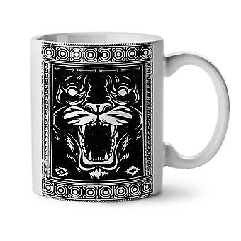 Face Beast Animal NEW White Tea Coffee Ceramic Mug 11 oz | Wellcoda