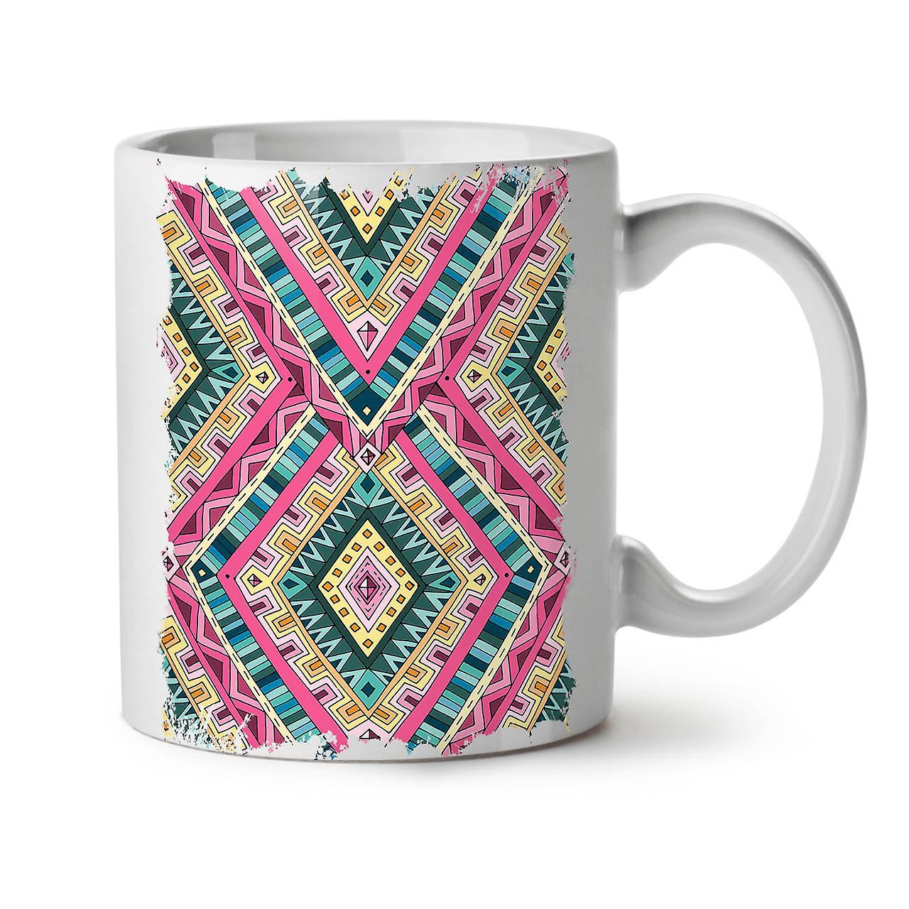 Pattern OzWellcoda New White Ceramic Tea Coffee Mug Psychedelic 11 XZikPu