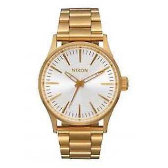 Nixon The Sentry 38 SS All Gold / White Sunray (A4502443)