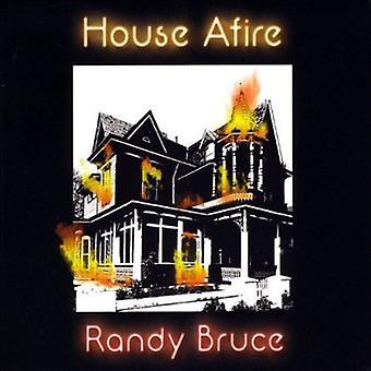 Randy Bruce - huset brann [DVD] USA import