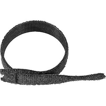 Hook-and-loop cable tie for bundling Hook and loop pad (L x W) 200 mm x 20 mm