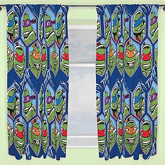 Teenage Mutant Ninja Turtles Dimension Curtains 66 x 54