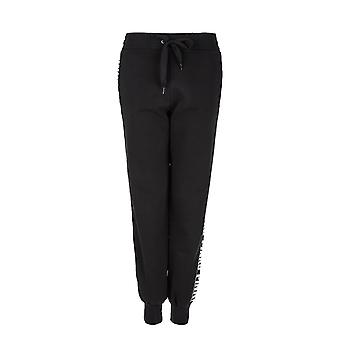 Pinko women's 1G138LY49TZ99 black cotton joggers