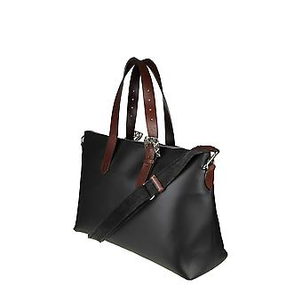 Golden Goose women's G32MA24A1 black leather tote