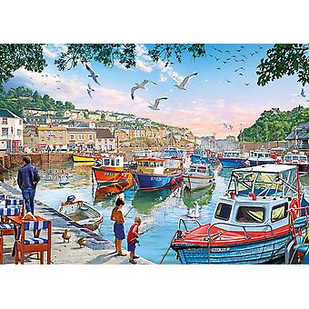Gibsons premier Catch Jigsaw Puzzle (1000 pièces)