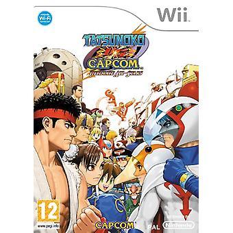 Tatsunoko Vs Capcom Ultimate All Stars (Wii)