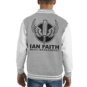 Spinal Tap Ian Faith Music Management Kid's Varsity Jacket