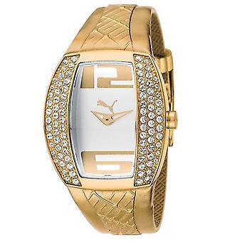 PUMA watch bracelet watch women's vitality gold stones PU101172003