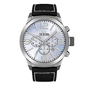 TW steel mens watch Marc Coblen Edition TWMC13 wrist watch leather band