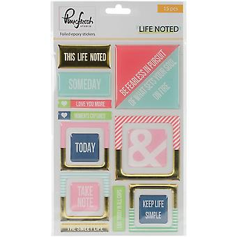 Life Noted Epoxy Stickers 4