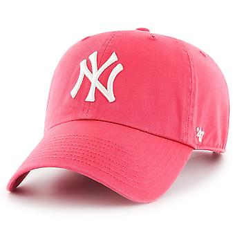 47 fire Adjustable Cap - CLEAN UP New York Yankees pink