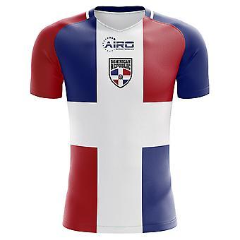 2018-2019 Dominican Republic Home Concept Football Shirt (Kids)