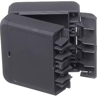 Bopla Bocube B 080805 PC-V0-7024 Wall-mount enclosure, Build-in casing 80 x 89 x 47 Polycarbonate (PC) Graphite grey (RAL 7024) 1 pc(s)