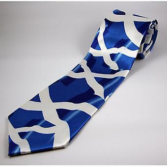 Union Jack slijtage Scotland vlag stropdas