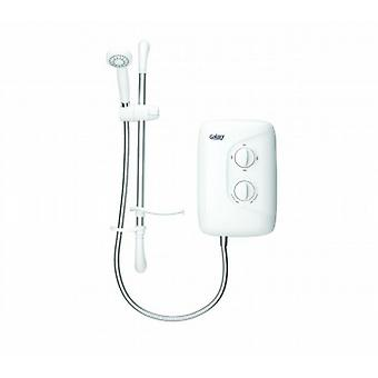 Galaxy Aqua 2000m 9.5kw White And Chrome Electric Shower