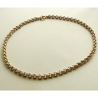 collier de jasseron or 14 carats