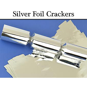 Silver Foil Make & Fill Your Own Cracker Making Craft Kits & Boards