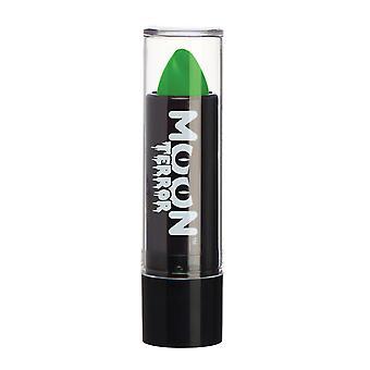 Mond-Terror - Halloween Lippenstift Make-up - 5g - leicht gruselige Designs wie ein Profi erstellen! Perfekt für Vampir, Gespenst, Skelett, Hexe, Kürbis, Monster etc. - Zombie-grün