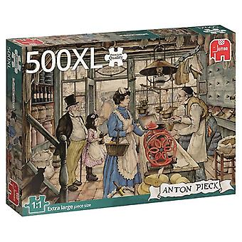 Jumbo puzzel 500 stukjes XL 18599