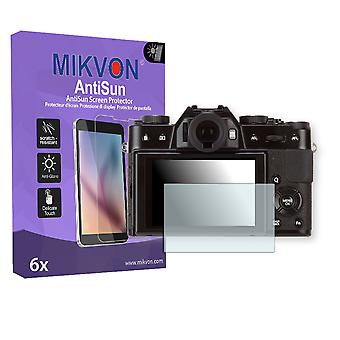 Fujifilm X-T10 Screen Protector - Mikvon AntiSun (Retail Package with accessories)