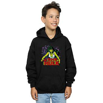 Marvel Boys The Savage She-Hulk Hoodie
