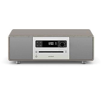 Sonoro classic line audiosystemet stereo 2 taupe