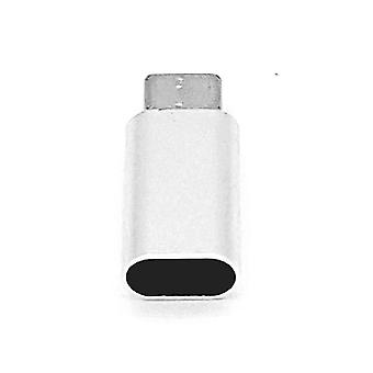 8 Pin Female to Type C Male USB Adapter-Silver