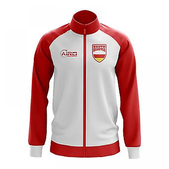 South Ossetia Concept Football Track Jacket (White)