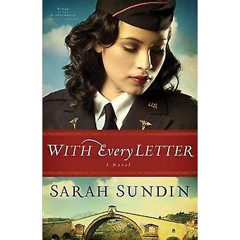 Med hvert bogstav - en roman af Sarah Sundin - 9780800720810 bog