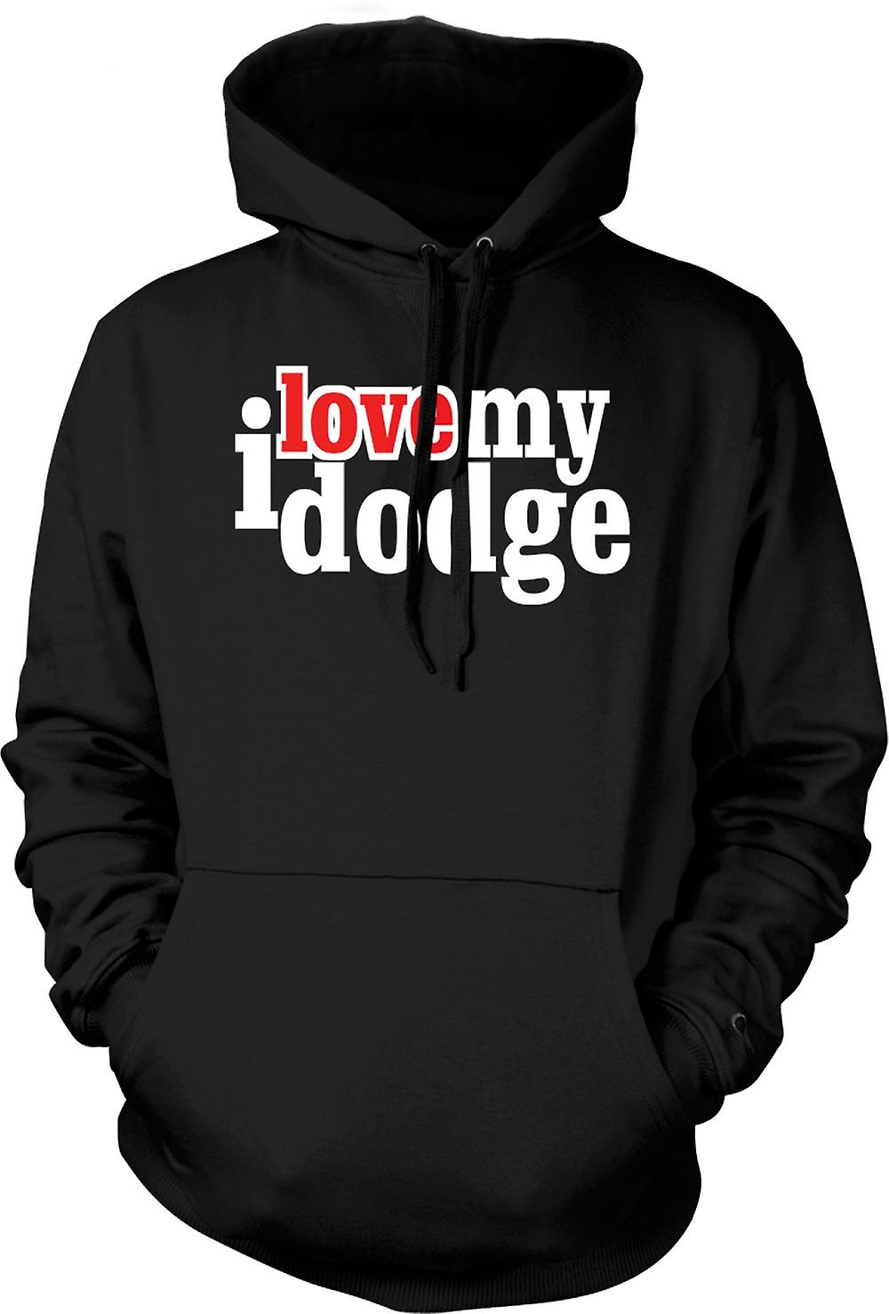 Kids Hoodie - I love my Dodge - Car Enthusiast