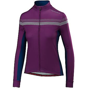 Altura Purple-Blue 2018 Nightvision 4 Womens Long Sleeved Cycling Jersey