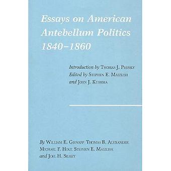 Essays on American Antebellum Politics, 1840-1860