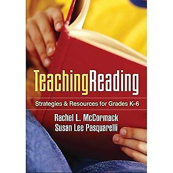 Enseignement de la lecture: Stratégies et ressources pour les classes K-6