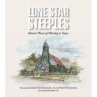 Lone Star clochers: Historiques lieux de culte au Texas (Clayton Wheat Williams Texas Life)
