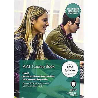 Comptes de AAT définitifs préparation: manuel