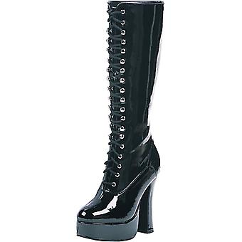 Boot Easy Lace Blk Sz 9