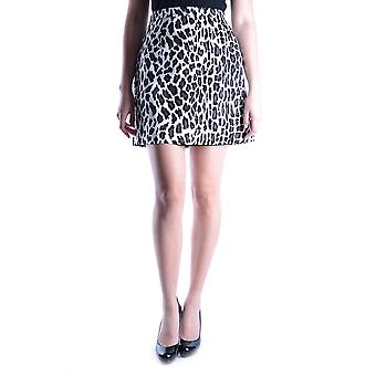Msgm Leopard siden kjol