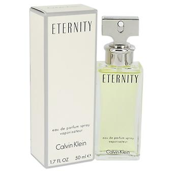 ETERNITY by Calvin Klein Eau De Parfum Spray 1.7 oz / 50 ml (Women)