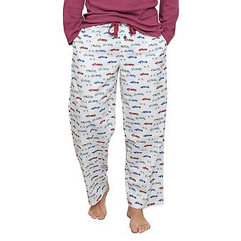 Austin White voiture impression pyjama Pyjama pantalon Cyberjammies 6280 masculine